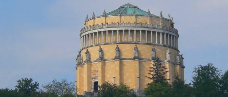 Architektur Bayern Befreiungshalle Kelheim Historische Bauwerke Bayern Panorama