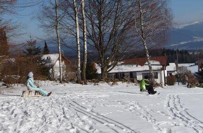 berg-pension-hacker-bayerischer-wald-regen-winterurlaub-schlitt