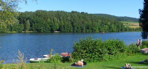 Sehenswürdigkeiten in Blaibach Ausflugsziele Badesee Freizeit See