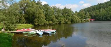 Seen Boot fahren Badeseen in Bayern Bayerischer Wald Oberpfalz
