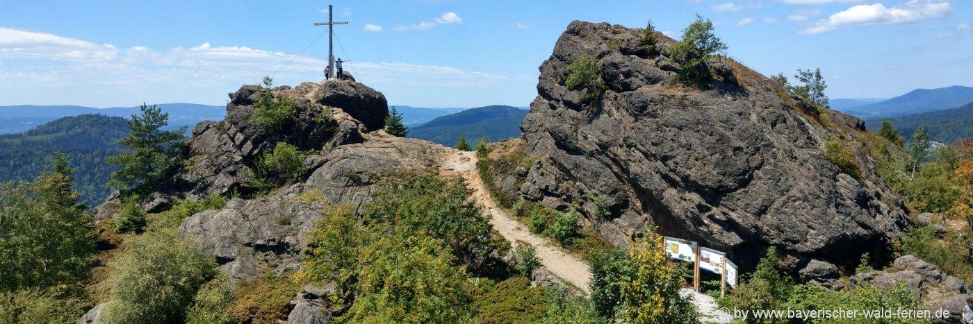 Sehenswürdigkeiten in Bodenmais Ausflugsziele Silberberg im Landkreis Regen