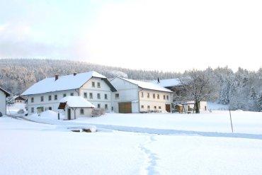 Bauernhof Winterurlaub Bayerischer Wald Skiurlaub Hochficht