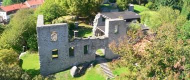 Brennberg Burgruine Aussichtsturm - Ausflugsziele und Sehenswürdigkeiten im Vorderen Bayerischen Wald