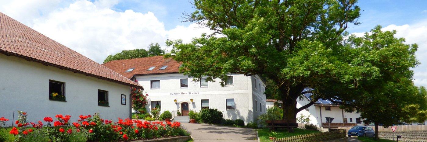 Bayerischer Wald Gasthof mit Zimmer und Ferienwohnung in Bayern