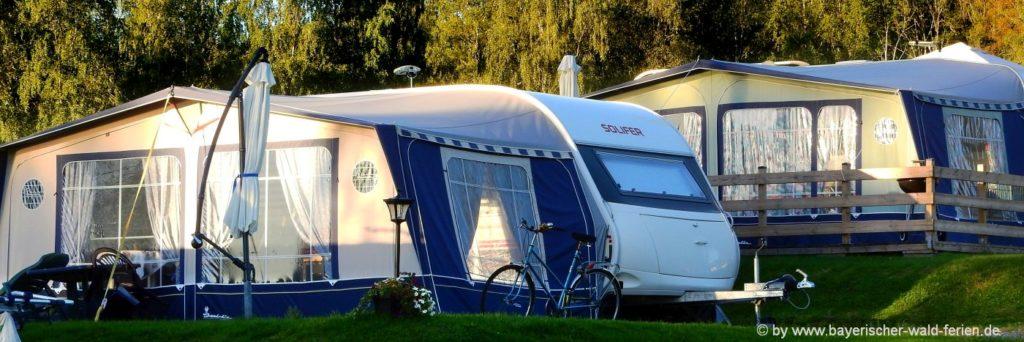 Bayerischer Wald Campingplatz Niederbayern am See