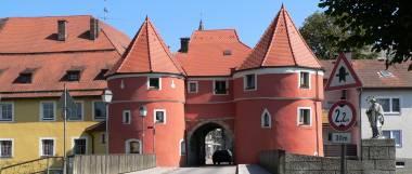 Wahrzeichen und Sehenswürdigkeiten in Ostbayern - Stadt Cham Biertor