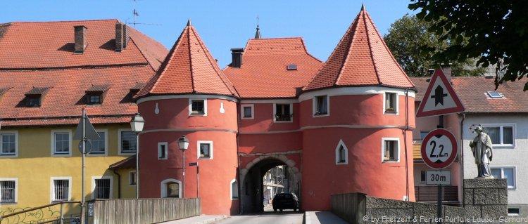 Denkmäler in Bayern Biertor in Cham