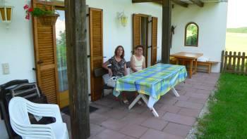 kinderfreundliche Ferienwohnung in Alleinlage - Terrasse oder Balkon