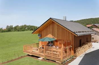 Naturhaus Ferien im Holzhaus in Bayern im Bayerischen Wald