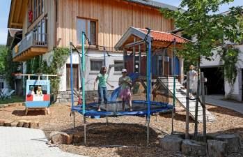 Urlaub Kinderparadies in Bayern der Ernstlhof