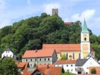 Markt Falkenstein Ausflugsziele Sehenswürdigkeiten Burg Falkenstein Burgfestspiele
