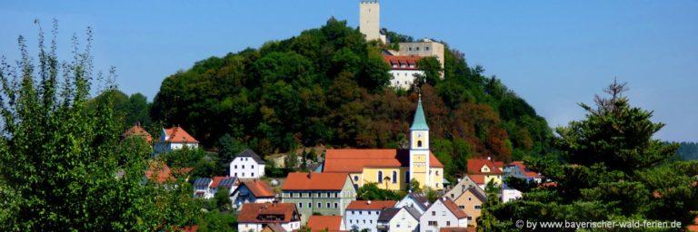 falkenstein-unterkunft-oberpfalz-markt-ausflugsziele-kirche-burg