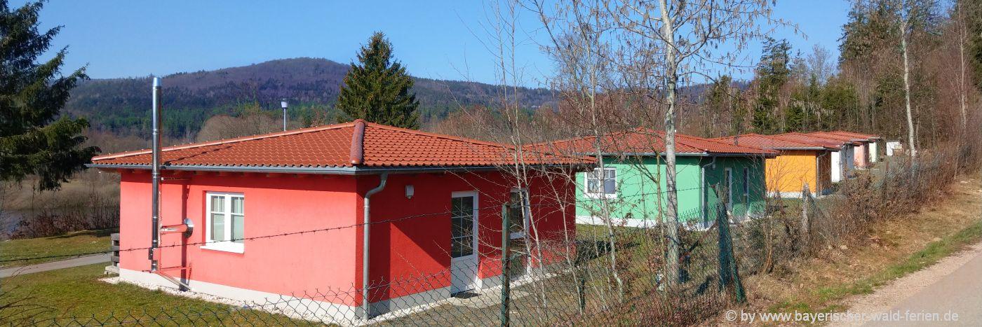 Ferienparks in Niederbayern und der Oberpfalz