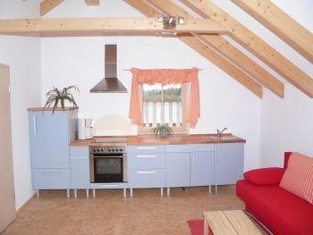 Ferienhaus Küche - Ferienhaus in ökologischer Bauweise für Wohnkomfort und gutes Raumklima