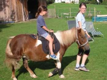 Reiturlaub mit den Ponys Ferienhof bei Viechtach und Bodenmais