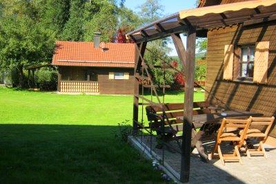 Urlaub mit Angeln & Ausflüge Ferienhütte Oberpfalz