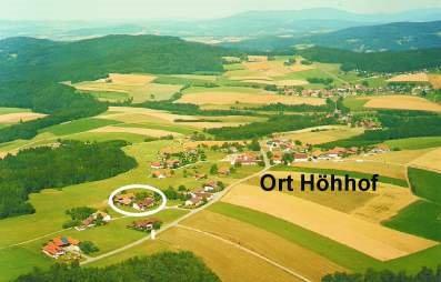Lage vom Bayerischer Wald Familien Kinder Ferienhof