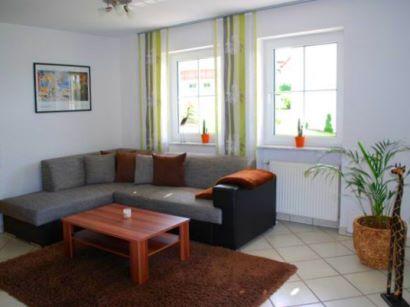 Ferienwohnung mit Wohnzimmer im Bayerischen Wald