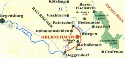 Ferienwohnung für Urlaub in Bayern Ferienwohnung am Ortsrand und Waldrand Bayerischer Wald