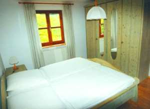 Unterkunft in Mühle - Schlafzimmer