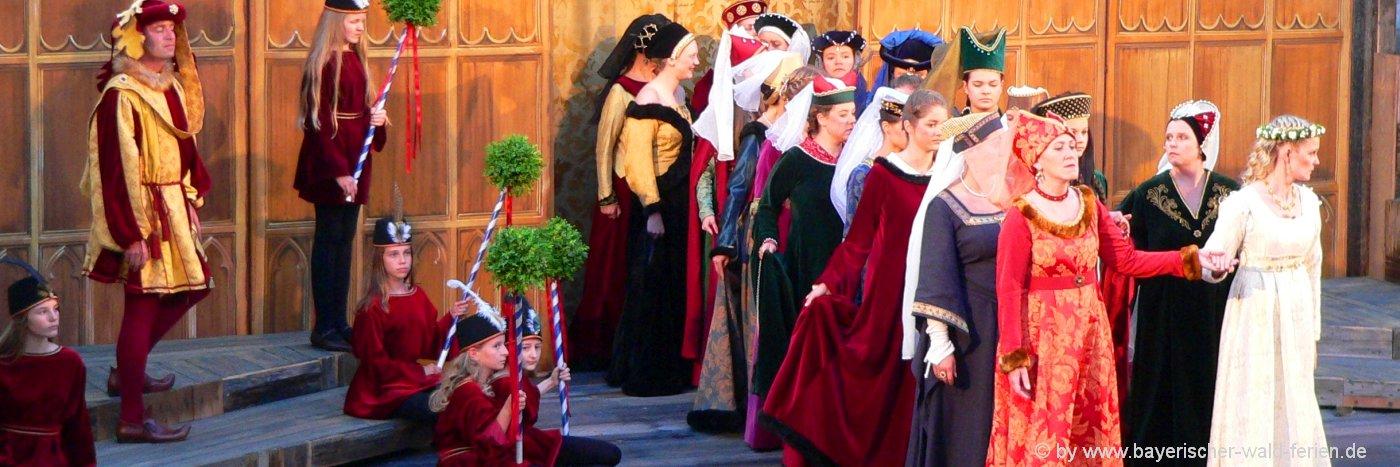Agnes Bernauer Festspiele in Niederbayern Ausflug nach Straubing