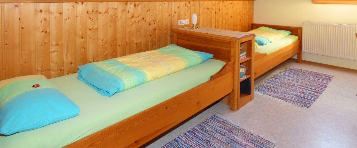 kindgerechte Ferienwohnungen gemütliches Kinderzimmer