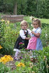 Kinder am Bauernhof für Familienferien in Deutschland
