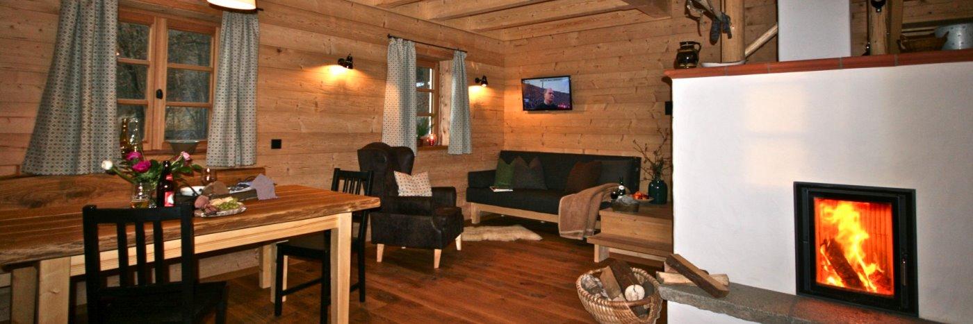 Ferienhütten mit Kachelofen in Bayern Freizeithof in Deutschland Ferienhaus