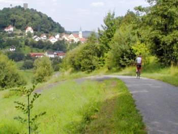 Radeln im Landkreis Cham Fahrrad fahren im Bayerwald