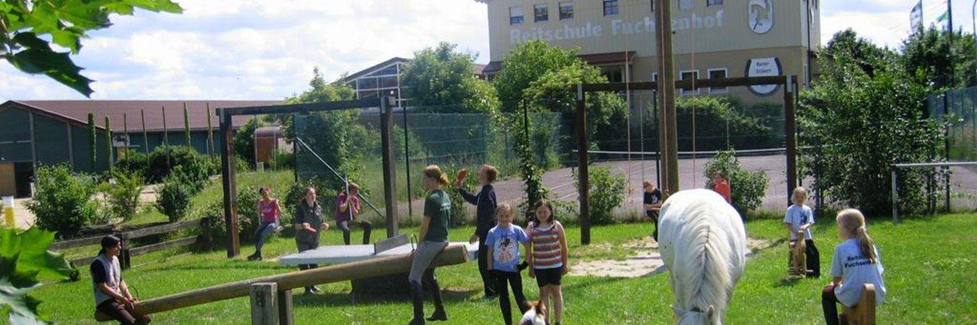 Ferien Reitschule in Bayern Reitunterricht im Oberpfalz Urlaub