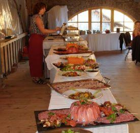 Betriebsfeier oder Familienfeier Buffet cham Schwandorf Regen Freyung Passau nähe