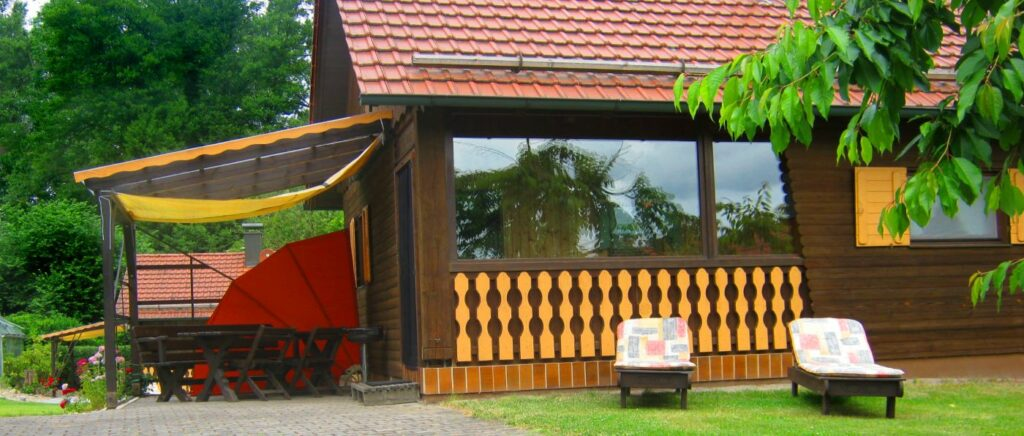 Ferienhütten in Deutschland mieten Holzhaus in der Oberpfalz