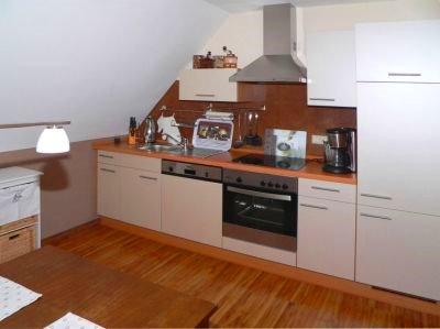 preiswerte Ferienwohnung in der Oberpfalz im Bayerwald in Falkenstein - Küche zum kochen