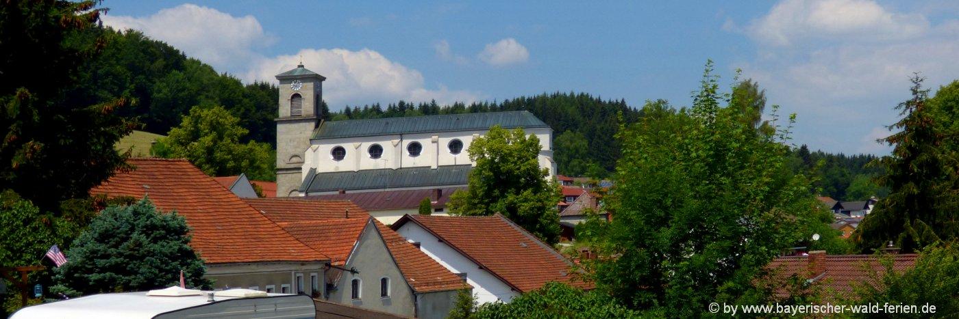 gotteszell-unterkunft-ausflugsziele-bayerischer-wald-sehenswürdigkeiten-kirche