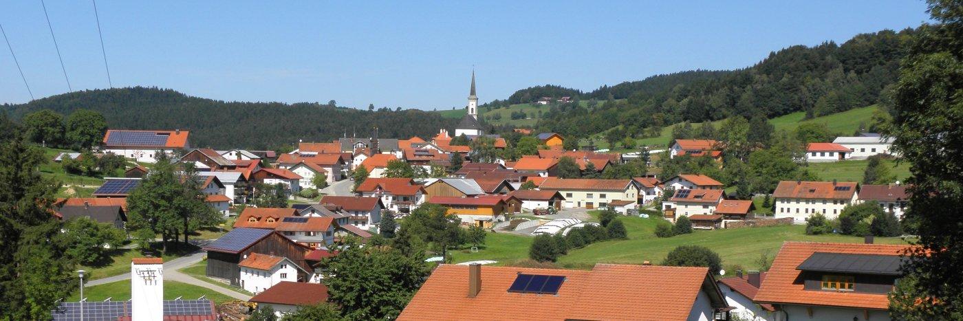 Sehenswürdigkeiten in Grainet Unterkunft & Ausflugsziele Bergdorf am Haidel