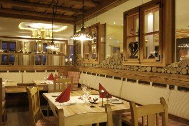 restaurant im Bayersicher wald Wanderhotel Hüttenhof