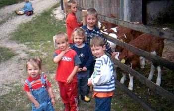 Urlaub auf dem Bauernhof - kinderfreundlicher Ferienhof
