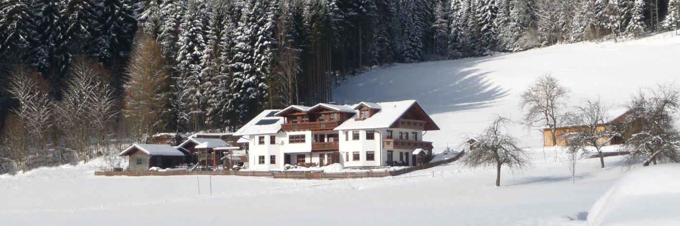 Pension im Skigebiet Bayerischer Wald nähe Arber und Geißkopf