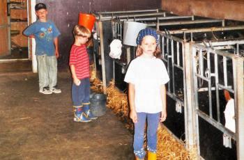 Abwechslung am Bauernhof Unterhaltung für Kinder