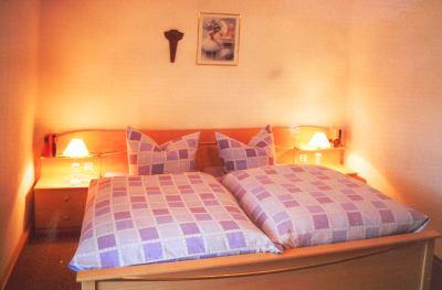 Schlafzimmer der Ferienwohnung bis 5 Personen