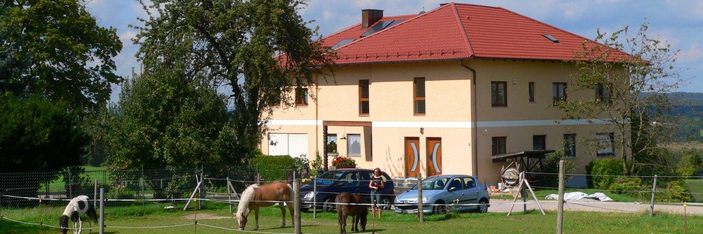 Ferienwohnungen bei Wald & Reichenbach Handlhof in Walderbach