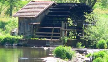 Aktivitäten bei der Ferienwohnung am Fluss Wasserrad