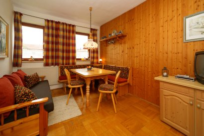 Wohnbereich im Ferienhaus Bungalow in Deutschland