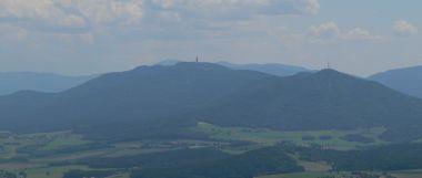 Hoher Bogen Berg in Bayern / Bayerischer Wald