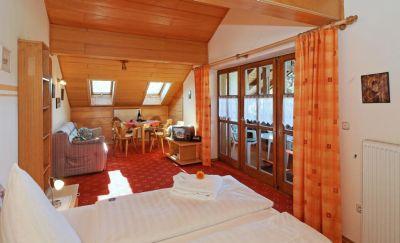 Bilder der Zimmer - Wohnstudio und Komfortzimmer