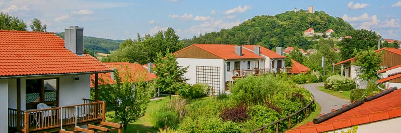 Ferienhaus Ferienpark im Bayerwald Feriendorf in der Oberpfalz mit Schwimmbad
