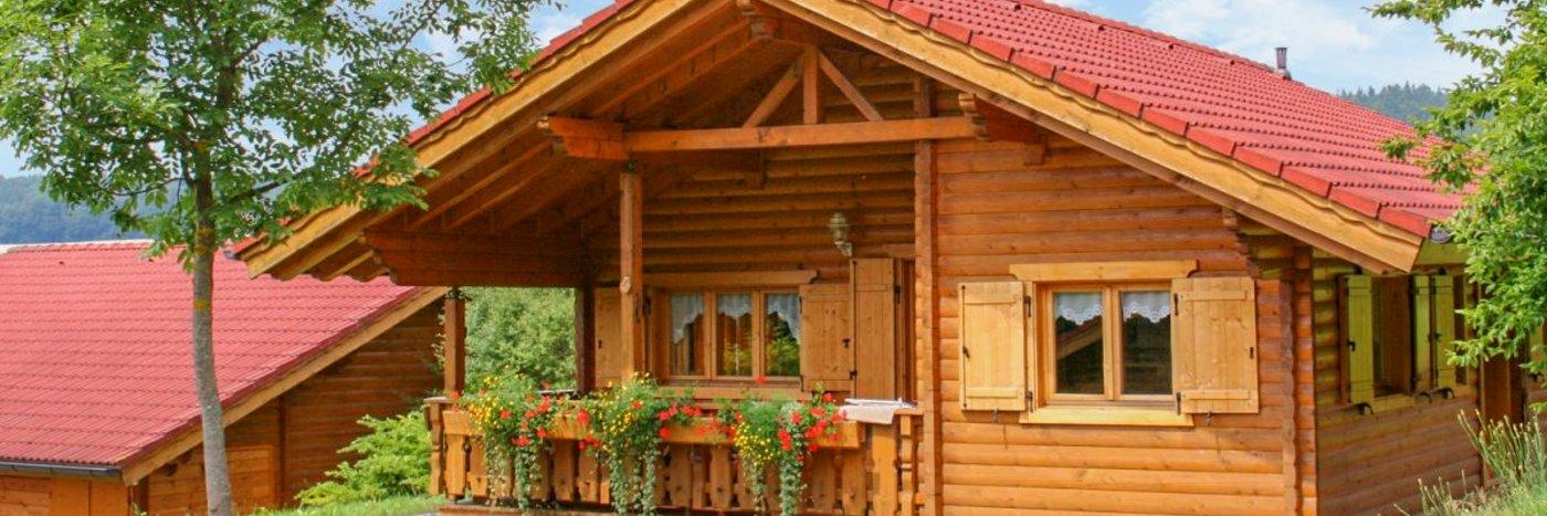 Naturerlebnis Dorf im Bayerischen Wald Blockhäuser in Bayern Natururlaub in Stamsried