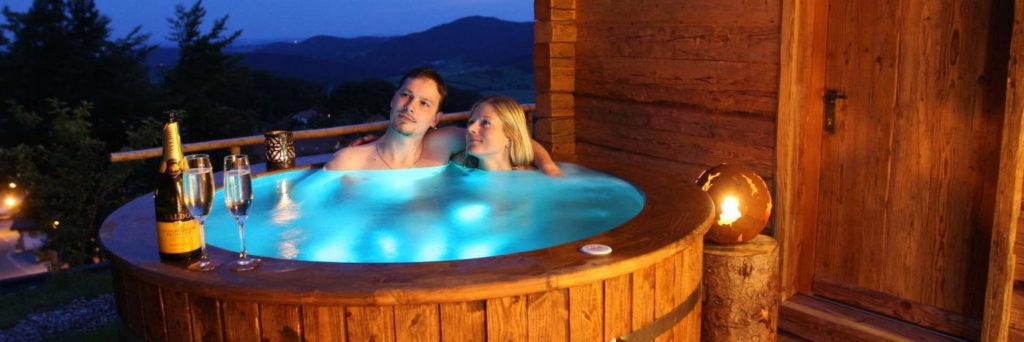 Bayerischer Wald Hotels mit Whirlpool im Zimmer - Private Spa in Bayern