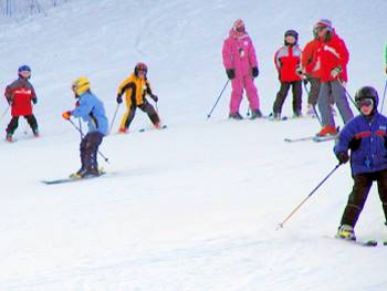 Winter Ferienhaus im Skigebiet Bayerischer Wald