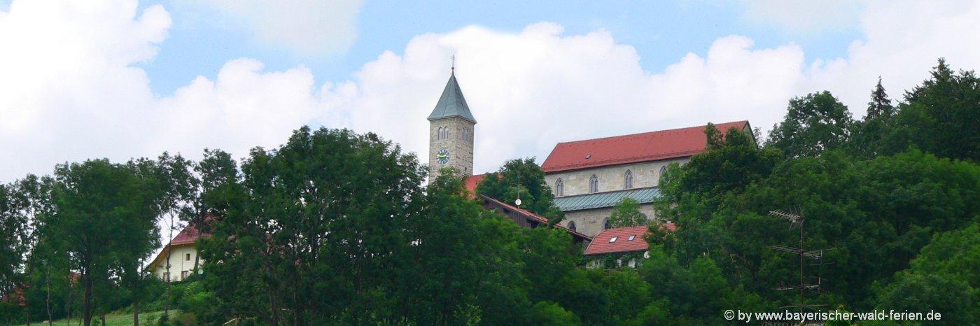 Ausflugsziele in Jandelsbrunn Sehenswürdigkeiten Bayerischer Wald